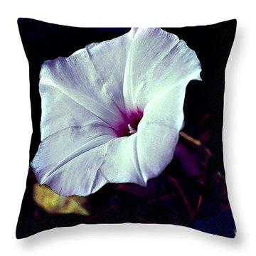 Alabama Wild Morning Glory Throw Pillow