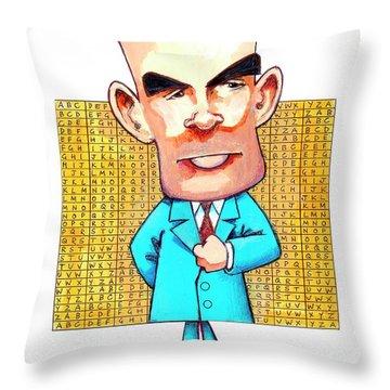 Code Breaker Throw Pillows