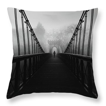 Ancient Architecture Throw Pillows