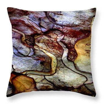 Along The Heavens Throw Pillow