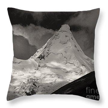 Alpamayo Peru Throw Pillow