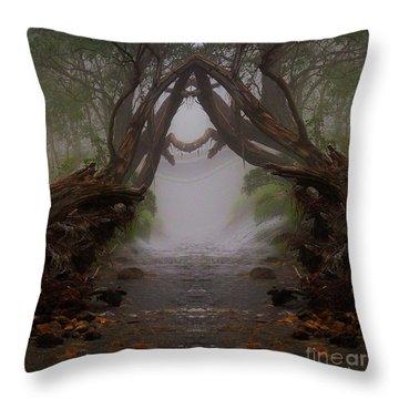 An Enchanted Place Throw Pillow