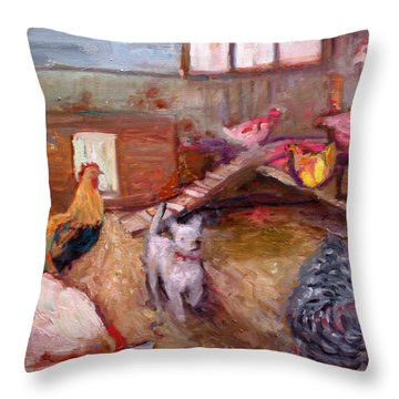 An026 Throw Pillow