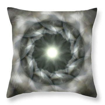 Ancient Light II Throw Pillow by Lisa Lipsett