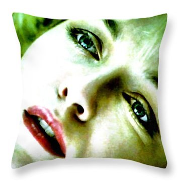 And The Angels Wouldn't Help You Throw Pillow