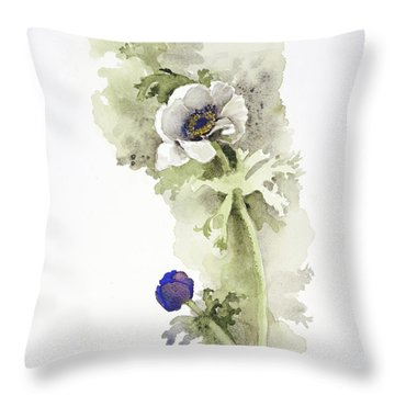 Anemone 4 Throw Pillow