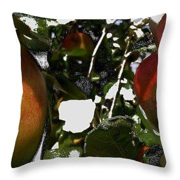 Apfelkuchen Throw Pillow