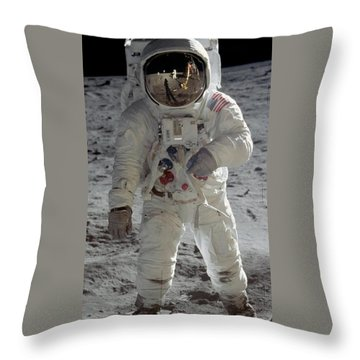 Apollo 11 Throw Pillow