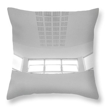 The Roof 2 Throw Pillow by Jason Michael Roust