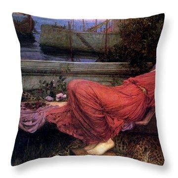 Ariadne Throw Pillow