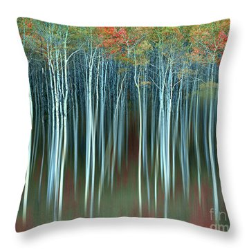 Army Of Trees Throw Pillow