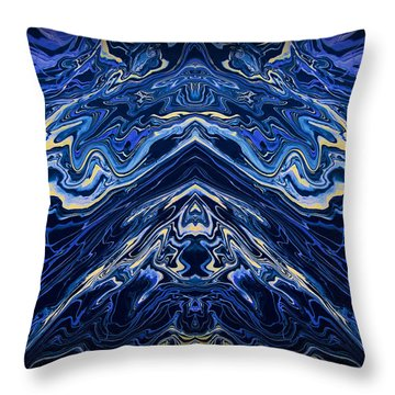 Art Series 1 Throw Pillow by J D Owen