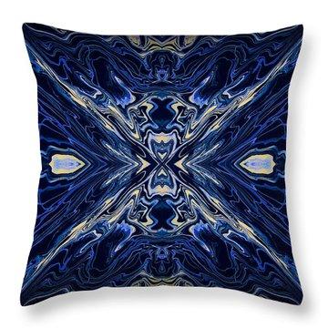 Art Series 7 Throw Pillow by J D Owen