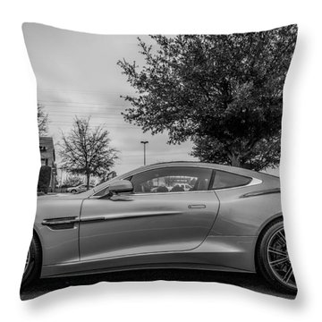 Aston Martin Vanquish V12 Coupe Throw Pillow
