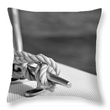 At Sea Throw Pillow