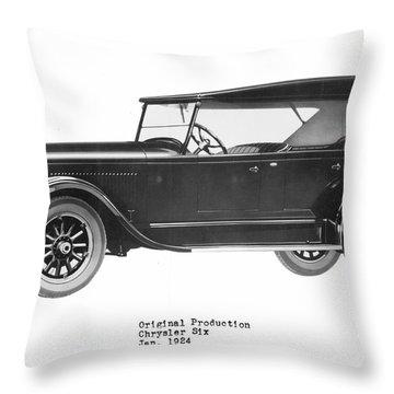 Automobile Throw Pillow