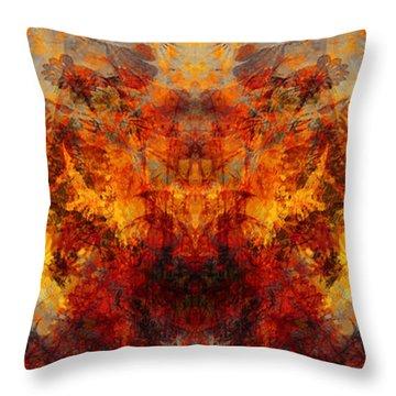 Autumn Glory Throw Pillow by Christopher Gaston