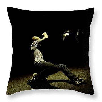 B Boy 8 Throw Pillow