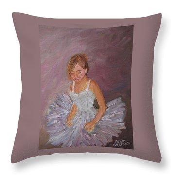 Ballerina 2 Throw Pillow