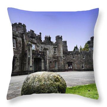 Balloch Castle Throw Pillow