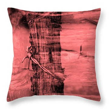 Barbed Wire Throw Pillow by Tommytechno Sweden