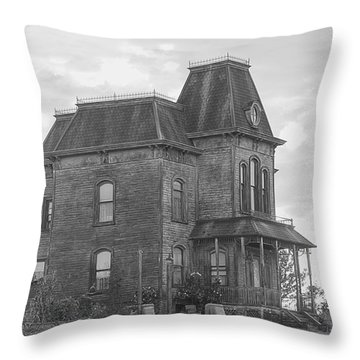 Bates Motel Throw Pillow