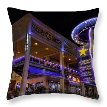 Bayou Place Throw Pillow