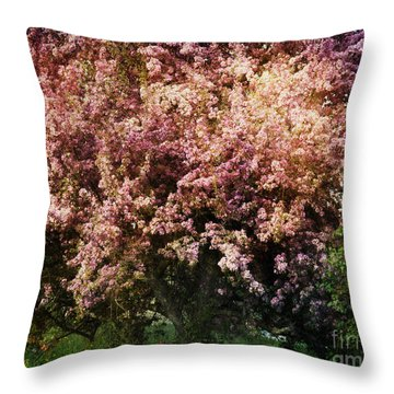 Beauty Throw Pillow by Alana Ranney