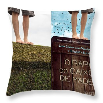 Rights-managed Throw Pillows