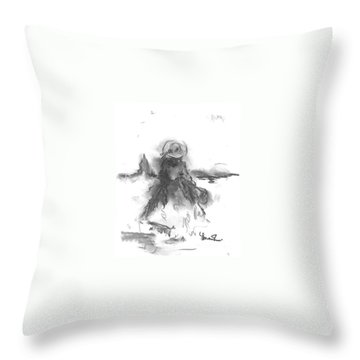 Being Happy Throw Pillow