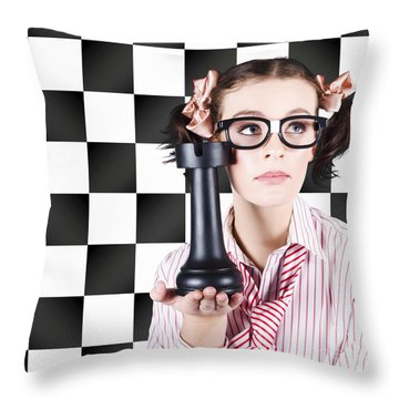 Best Practice Marketing Strategy Throw Pillow