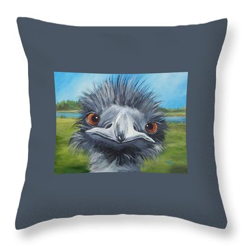 Big Bird - 2007 Throw Pillow