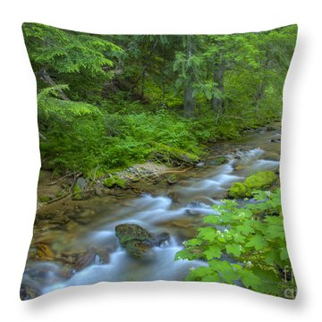 Big Creek Throw Pillow