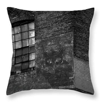 Black Kat Throw Pillow
