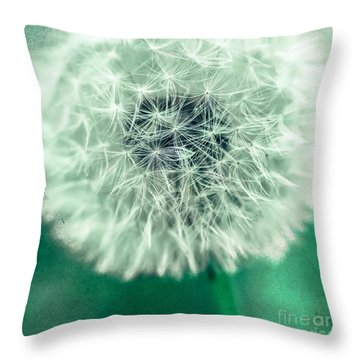 Blowball 1x1 Throw Pillow
