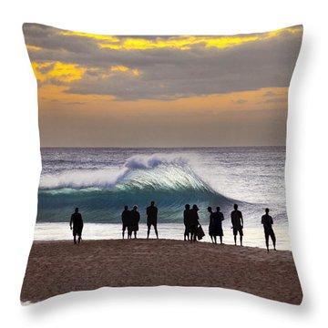 Blue Marlin Throw Pillow by Sean Davey
