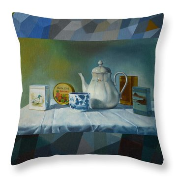 Bonbons Throw Pillow by Jukka Nopsanen