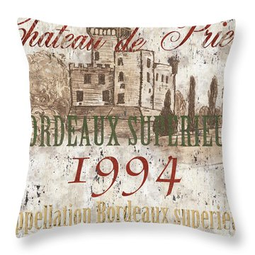 Winery Throw Pillows