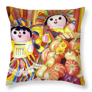 Bountiful Throw Pillow