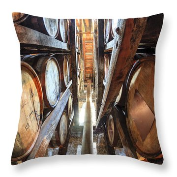 Bourbon Warehouse Throw Pillow by Alexey Stiop