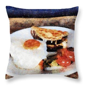 Breakfast Throw Pillow by Yury Bashkin