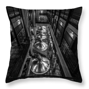 Brewing Up Trouble Throw Pillow