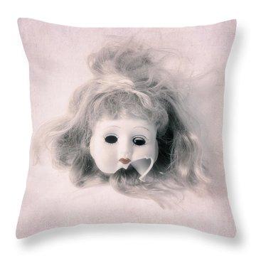 Broken Head Throw Pillow by Joana Kruse