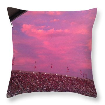 Bryant-denny Painted Sky Throw Pillow