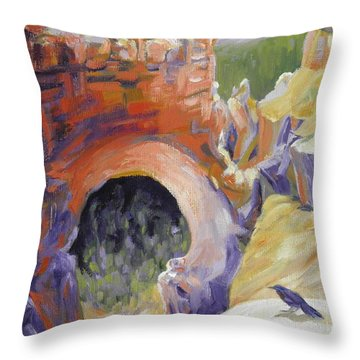 Bryce Canyon Arch Utah Throw Pillow