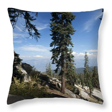 Throw Pillow featuring the photograph Buck Rock Fire Lookout by Ivete Basso Photography