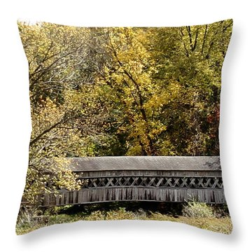 Buckeye Lake Ohio Throw Pillow
