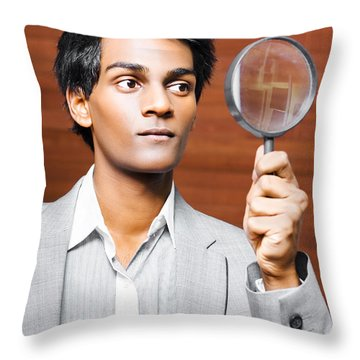 Auditors Throw Pillows