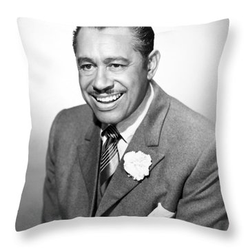 Cab Calloway (1907-1994) Throw Pillow by Granger
