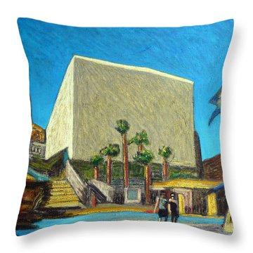 Cabo Cultural Center Throw Pillow